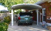 Minivan Metal Carport Kit